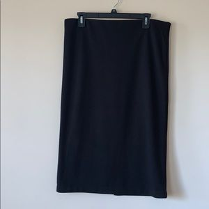 LOFT black pencil skirt size L